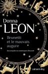 """Couverture du livre : """"Brunetti et le mauvais augure"""""""