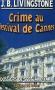 """Couverture du livre : """"Crime au festival de Cannes"""""""