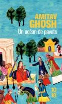 """Couverture du livre : """"Un océan de pavots"""""""