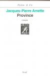 """Couverture du livre : """"Province"""""""