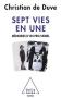 """Couverture du livre : """"Sept vies en une"""""""