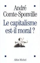 """Couverture du livre : """"Le capitalisme est-il moral ?"""""""