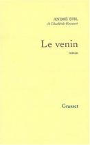 """Couverture du livre : """"Le venin"""""""