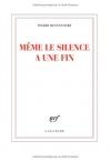 """Couverture du livre : """"Même le silence a une fin"""""""