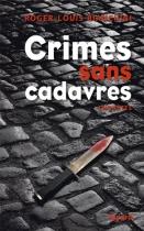 """Couverture du livre : """"Crimes sans cadavres"""""""