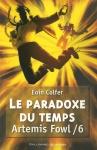 """Couverture du livre : """"Le paradoxe du temps"""""""