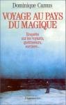"""Couverture du livre : """"Voyage au pays du magique"""""""