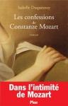 """Couverture du livre : """"Les confessions de Constanze Mozart"""""""