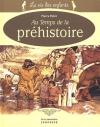 """Couverture du livre : """"Au temps de la préhistoire"""""""
