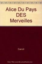 """Couverture du livre : """"Alice au pays des merveilles"""""""