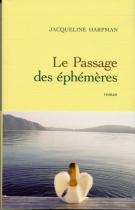 """Couverture du livre : """"Le passage des éphémères"""""""
