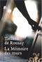 """Couverture du livre : """"La mémoire des murs"""""""
