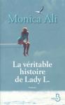 """Couverture du livre : """"La véritable histoire de Lady L."""""""