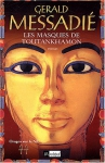 """Couverture du livre : """"Les masques de Toutankhamon"""""""