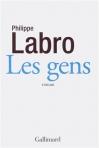 """Couverture du livre : """"Les gens"""""""