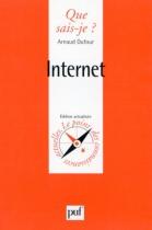 """Couverture du livre : """"Internet"""""""