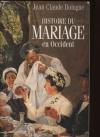 """Couverture du livre : """"Histoire du mariage en Occident"""""""