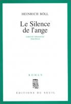"""Couverture du livre : """"Le silence de l'ange"""""""