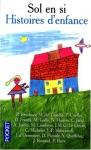 """Couverture du livre : """"Histoires d'enfances"""""""
