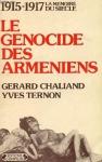 """Couverture du livre : """"Le génocide des Arméniens"""""""
