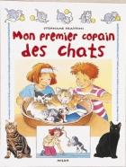"""Couverture du livre : """"Mon premier copain des chats"""""""