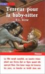 """Couverture du livre : """"Terreur pour la baby-sitter"""""""