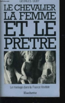 """Couverture du livre : """"Le chevalier, la femme et le prêtre"""""""