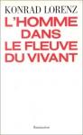 """Couverture du livre : """"L'homme dans le fleuve du vivant"""""""