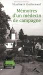 """Couverture du livre : """"Mémoires d'un médecin de campagne"""""""