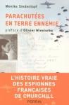 """Couverture du livre : """"Parachutées en terre ennemie"""""""