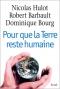 """Couverture du livre : """"Pour que la terre reste humaine"""""""