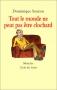 """Couverture du livre : """"Tout le monde ne peut pas être clochard"""""""