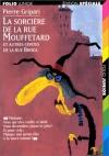 """Couverture du livre : """"La sorcière de la rue Mouffetard"""""""