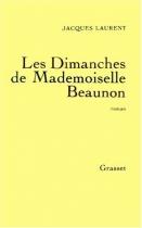 """Couverture du livre : """"Les dimanches de mademoiselle Beaunon"""""""