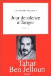 """Couverture du livre : """"Jour de silence à Tanger"""""""