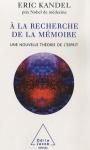 """Couverture du livre : """"A la recherche de la mémoire"""""""