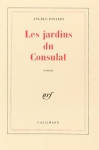 """Couverture du livre : """"Les jardins du Consulat"""""""