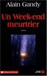 """Couverture du livre : """"Un week-end meurtrier"""""""