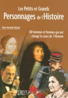 """Couverture du livre : """"Les petits et grands personnages de l'histoire"""""""