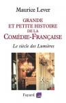 """Couverture du livre : """"Grande et petite histoire de la Comédie-Française"""""""
