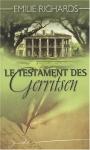"""Couverture du livre : """"Le testament des Gerritsen"""""""