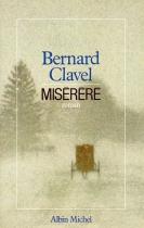 """Couverture du livre : """"Miséréré"""""""