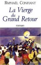 """Couverture du livre : """"La vierge du grand retour"""""""