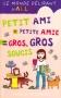 """Couverture du livre : """"Petit-ami + Petite-amie = gros, gros soucis"""""""