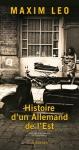 """Couverture du livre : """"Histoire d'un Allemand de l'Est"""""""