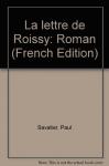 """Couverture du livre : """"La lettre de Roissy"""""""