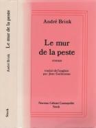 """Couverture du livre : """"Le mur de la peste"""""""