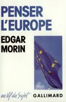 """Couverture du livre : """"Penser l'Europe"""""""
