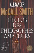 """Couverture du livre : """"Le club des philosophes amateurs"""""""