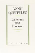 """Couverture du livre : """"La femme sous l'horizon"""""""